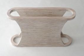 DYSFUNCTIONAL  (Plywood object, 35.5cm x 59.5cm x 15.3cm, Dirk Marwig 2008)