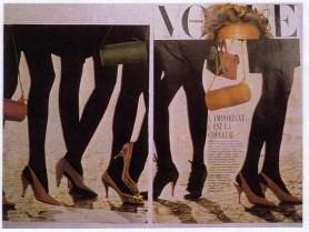 SHOES-VOGUE PARIS FEBRUARY 1988
