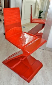 RED SEATFELD CHAIR