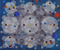 SUPERSTRUCTURE  (Oil and pigment ink on canvas, 51cm x 61cm, Dirk Marwig 2010)
