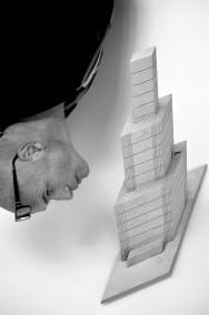 Dirk Marwig:Self portait A 2011