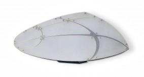 Open Dryzdale 1999  (Plexiglass standing object,-dimensions lost-, Dirk Marwig 1999)
