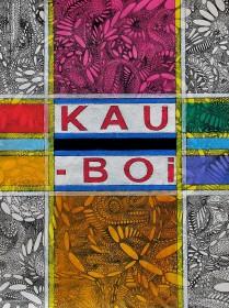 KAU-BOI  (Ink and oil on Japan-paper, 32cm x 23.5cm, Dirk Marwig 2007)