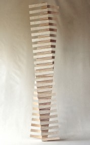 Project Reveen (Plywood construction, 158cm x 36cm x 21.5cm, Dirk Marwig 2014)