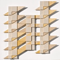 Balkonien  (Plywood construction-wall object-, 85.3cm x 80.2cm x 4,5cm, Dirk Marwig 2014)