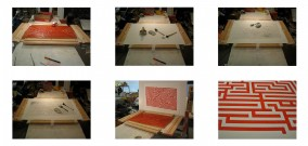 How I make a clean woodblock print  (Dirk Marwig 2015)