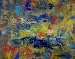 Shoulda Stayed In Bed (Oil on canvas, 40.5cm x 50.8cm, Dirk Marwig 2017)