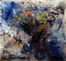 El Momento Perfecto (Oil on canvas, 160cm x 167cm, Dirk Marwig 2017)
