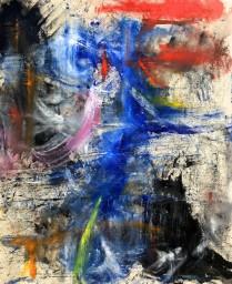 Untitled. August 2017 (Oil on canvas, 160cm x 132.3cm, Dirk Marwig 2017)
